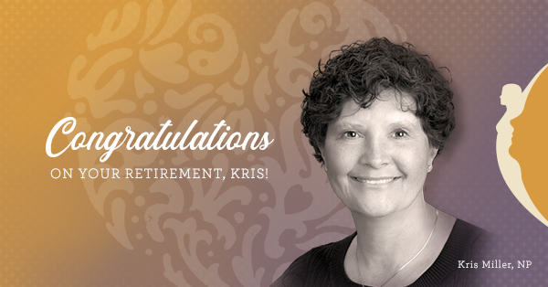 Congratulations on Your Retirement Kris!